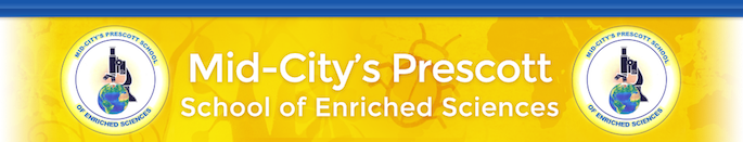 Mid-City's Prescott School of Enriched Sciences  Logo